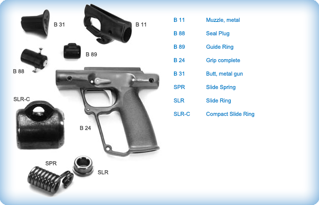 Spear Gun Replacement Partsab Biller Spearguns